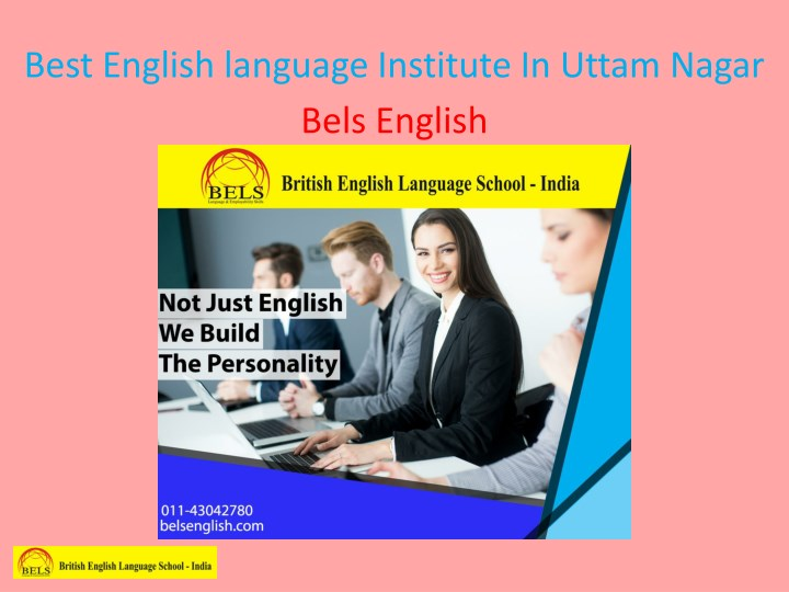 best english language institute in uttam nagar n.
