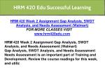 hrm 420 edu successful learning 39