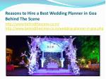 reasons to hire a best wedding planner 5