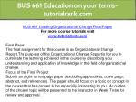 bus 661 education on your terms tutorialrank com 13
