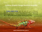 creative graphic design services australia 1