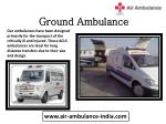 ground ambulance