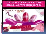 custom nail designer software online nail art designing tool