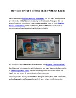 buy fake driver s license online without exam