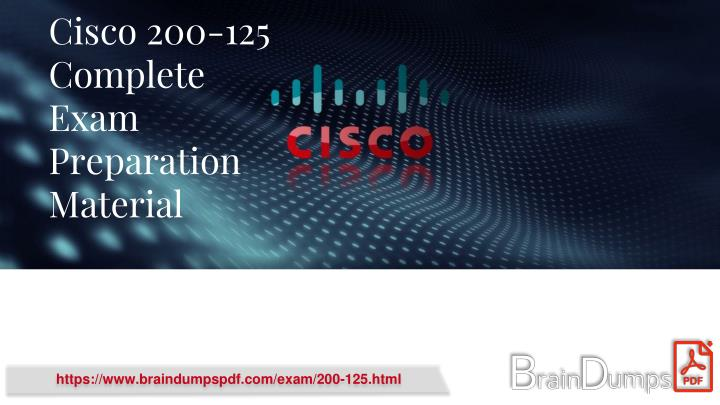 cisco 200 125 complete exam preparation material n.