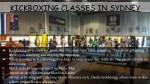kickboxing classes in sydney