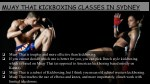 muay thai kickboxing classes in sydney