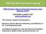 hrm 546 edu successful learning 4