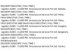 delivery executive full time logistics