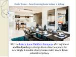 fowler homes award winning home builder in sydney