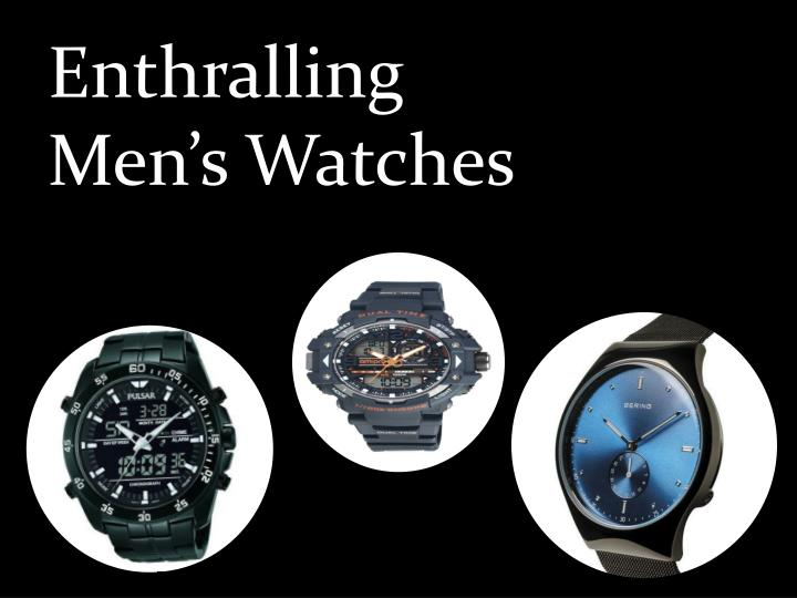 enthralling men s watches n.