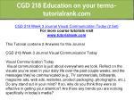 cgd 218 education on your terms tutorialrank com 11