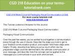 cgd 218 education on your terms tutorialrank com 18