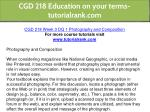 cgd 218 education on your terms tutorialrank com 9