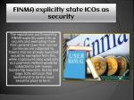 finma explicitly state icos as security