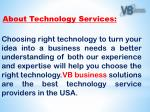 about technology services