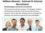 william almonte external vs internal recruitment 5