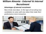 william almonte external vs internal recruitment 6