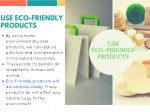 use eco friendly products