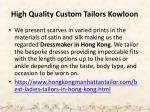 high quality custom tailors kowloon 5