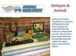 antiques artwok