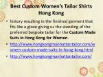 best custom women s tailor shirts hong kong 1