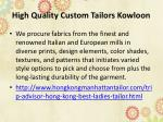 high quality custom tailors kowloon 2