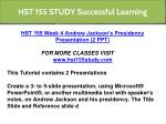hst 155 study successful learning 6