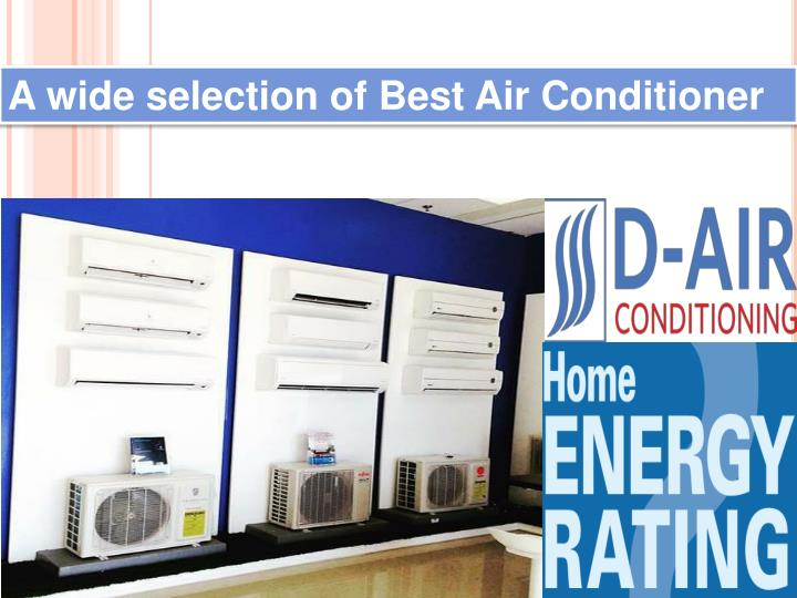 a wide selection of best air conditioner n.