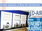 a wide selection of best air conditioner