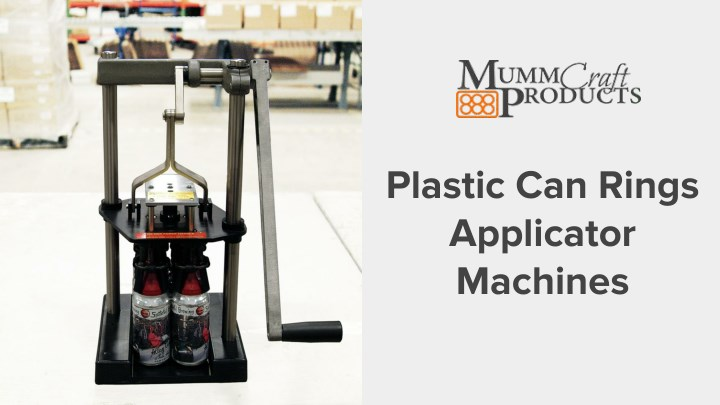 plastic can rings applicator machines n.