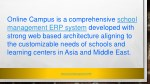 online campus is a comprehensive school