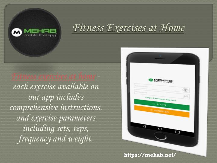 fitness exercises at home n.