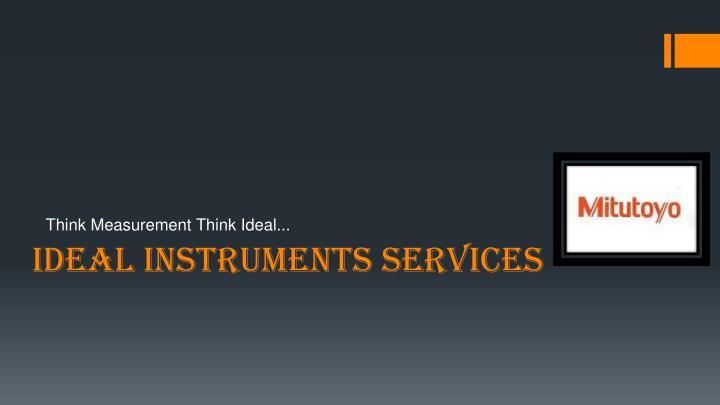 ideal instruments services n.