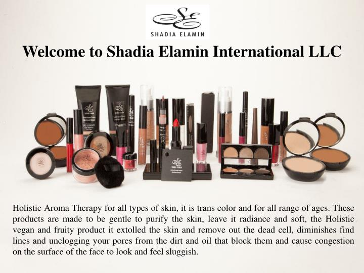 welcome to shadia elamin international llc n.