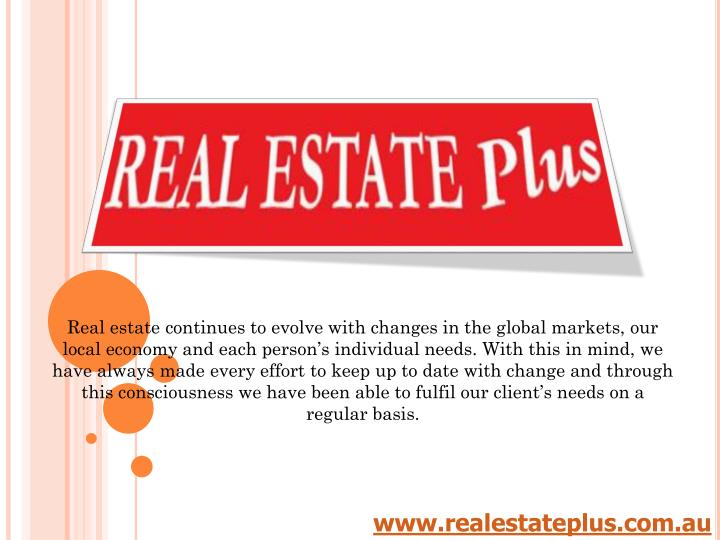real estate continues to evolve with changes n.