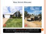 real estate midland