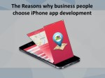 the reasons why business people choose iphone 1