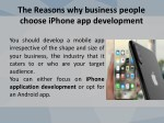 the reasons why business people choose iphone 3