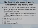 the reasons why business people choose iphone 4