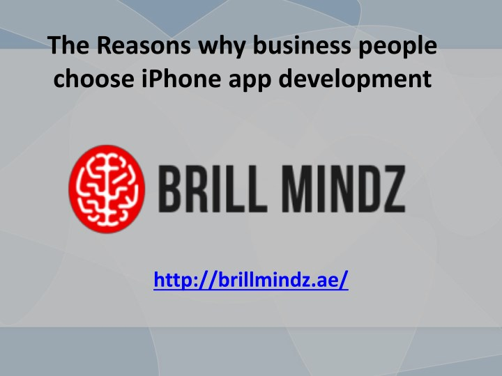 the reasons why business people choose iphone n.