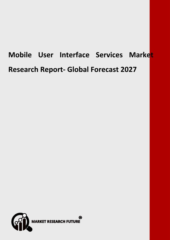 mobile user interface services market research n.