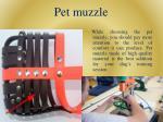 pet muzzle