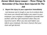 denver work injury lawyer three things to remember if you have been injured on the job 3