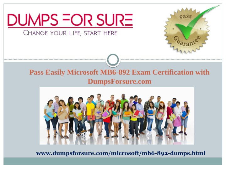 pass easily microsoft mb6 892 exam certification n.