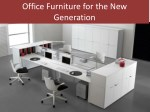 office furniture for the new generation