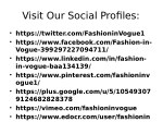 visit our social profiles