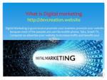 what is digital marketing http devcreation website