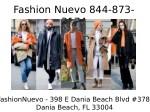 fashion nuevo 844 873 3174 2