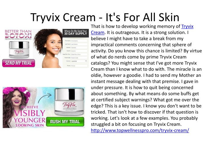 tryvix cream it s for all skin that n.